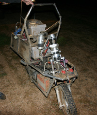 Photo of Ghostrider Robot